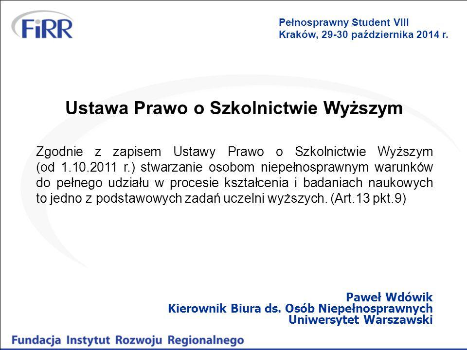 Podejście Uniwersytetu Warszawskiego Biuro ds.