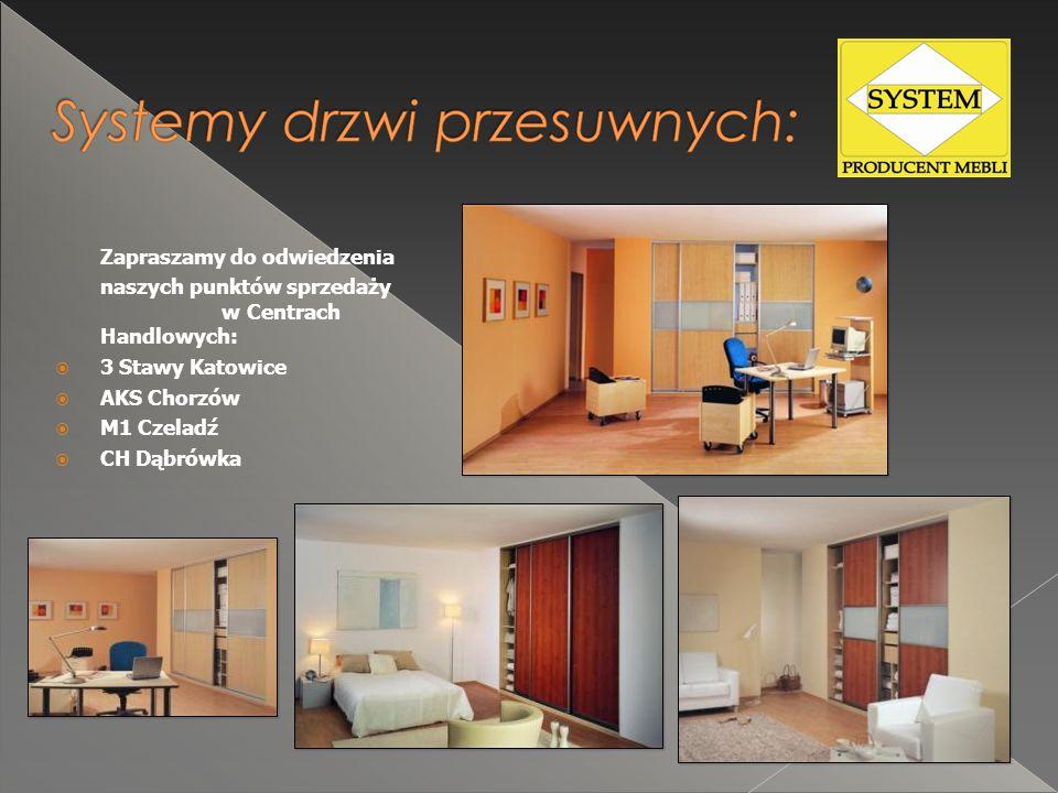 Zapraszamy do odwiedzenia naszych punktów sprzedaży w Centrach Handlowych:  3 Stawy Katowice  AKS Chorzów  M1 Czeladź  CH Dąbrówka