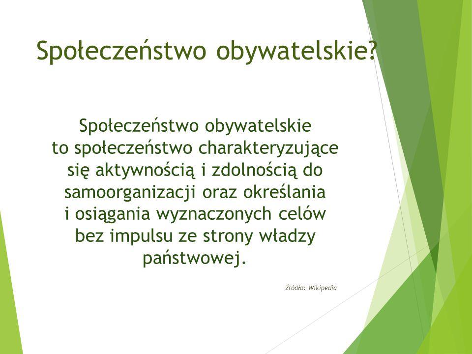 Społeczeństwo obywatelskie.