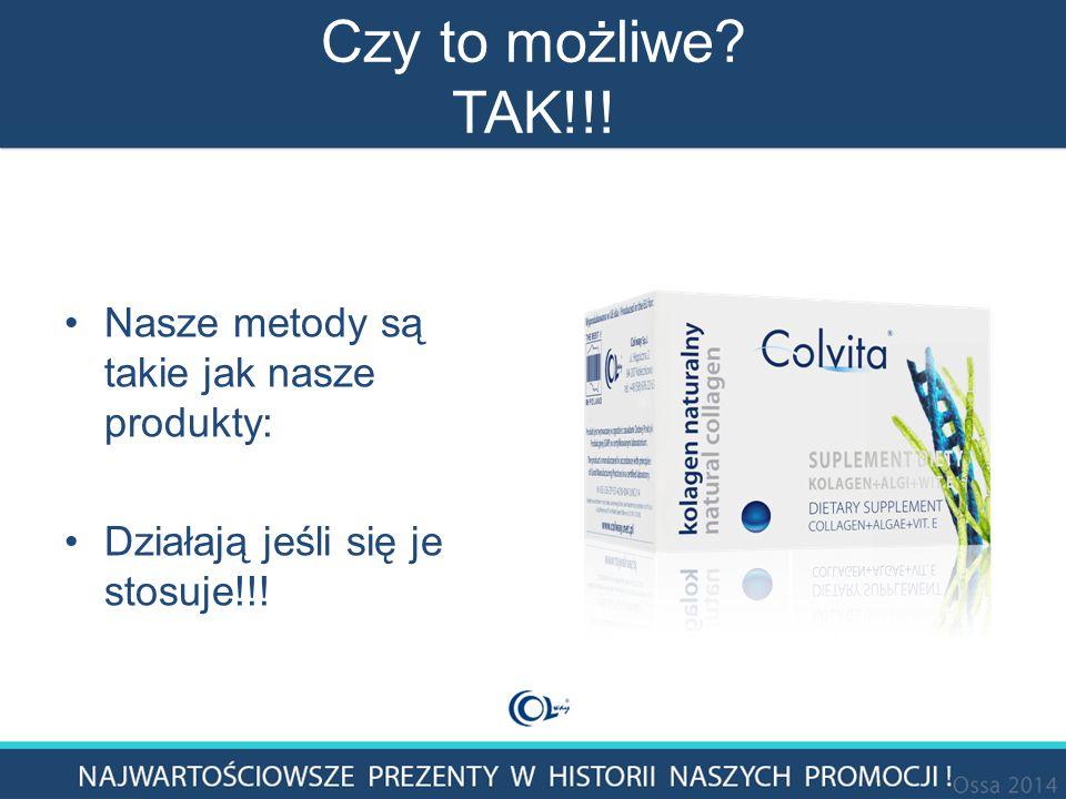 Czy to możliwe TAK!!! Nasze metody są takie jak nasze produkty: Działają jeśli się je stosuje!!!
