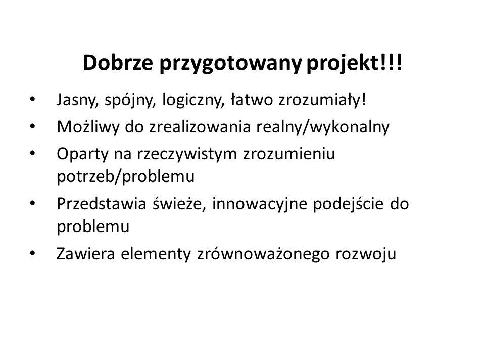 Dobrze przygotowany projekt!!. Jasny, spójny, logiczny, łatwo zrozumiały.