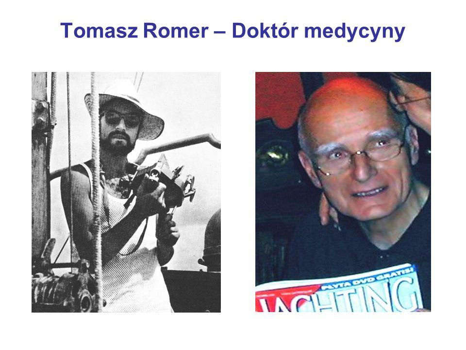 Tomasz Romer – Doktór medycyny