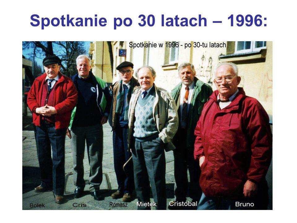 Spotkanie po 30 latach – 1996: