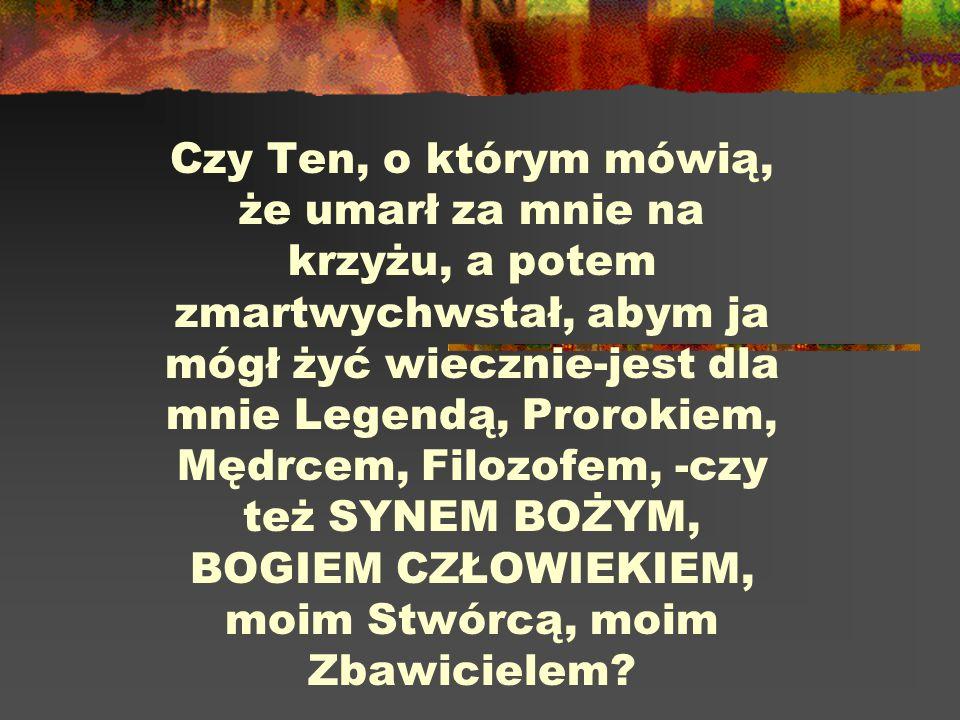 Istnienie Chrystusa faktem ŹRÓDŁA NIECHRZEŚCIJAŃSKIE: Pliniusz, Tacyt, Swetoniusz (poganie); Józef Flawiusz, Talmud