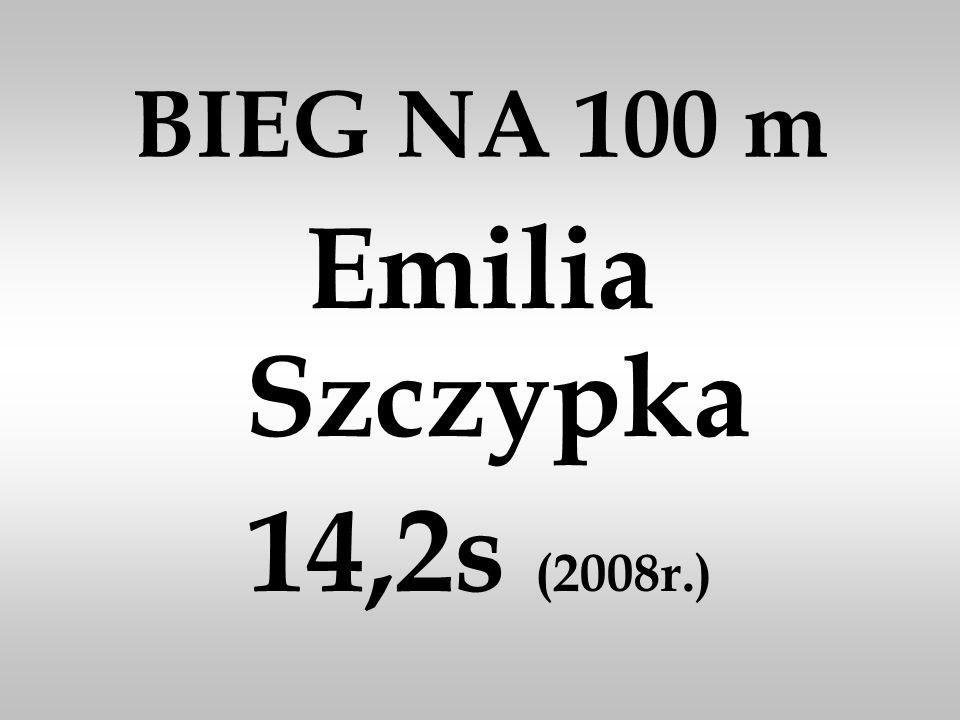 BIEG NA 1000 m Wiktor Staszak 1.45.1 (2013r. )