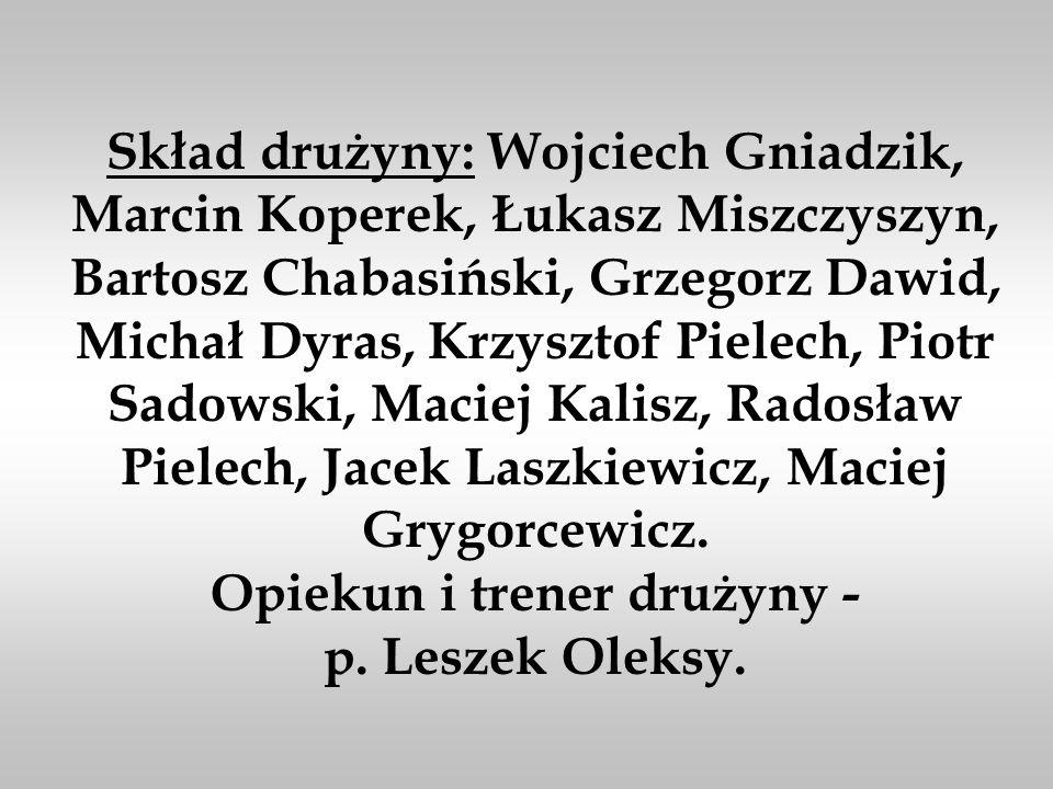 III MIEJSCE W MISTRZOSTWACH POLSKI W KOSZYKÓWCE - BYDGOSZCZ 15-17.06.2001r
