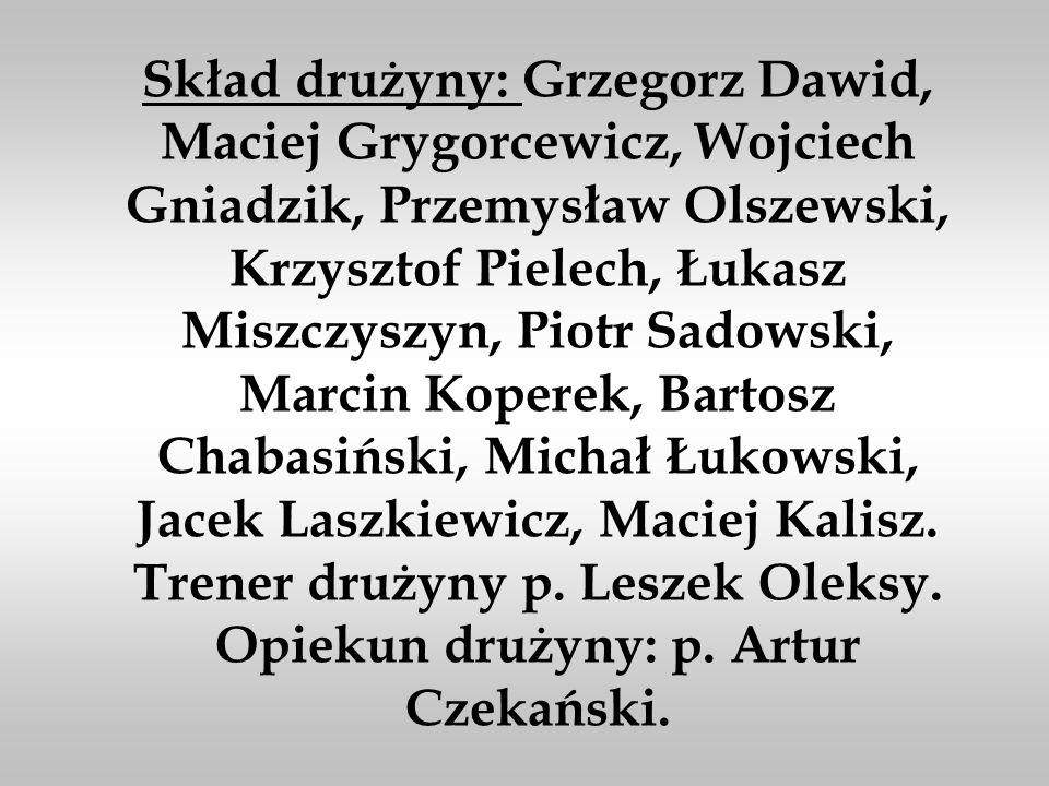 V MIEJSCE W MISTRZOSTWACH POLSKI W KOSZYKÓWCE - ZAMBRÓW 13-16.06.2002r
