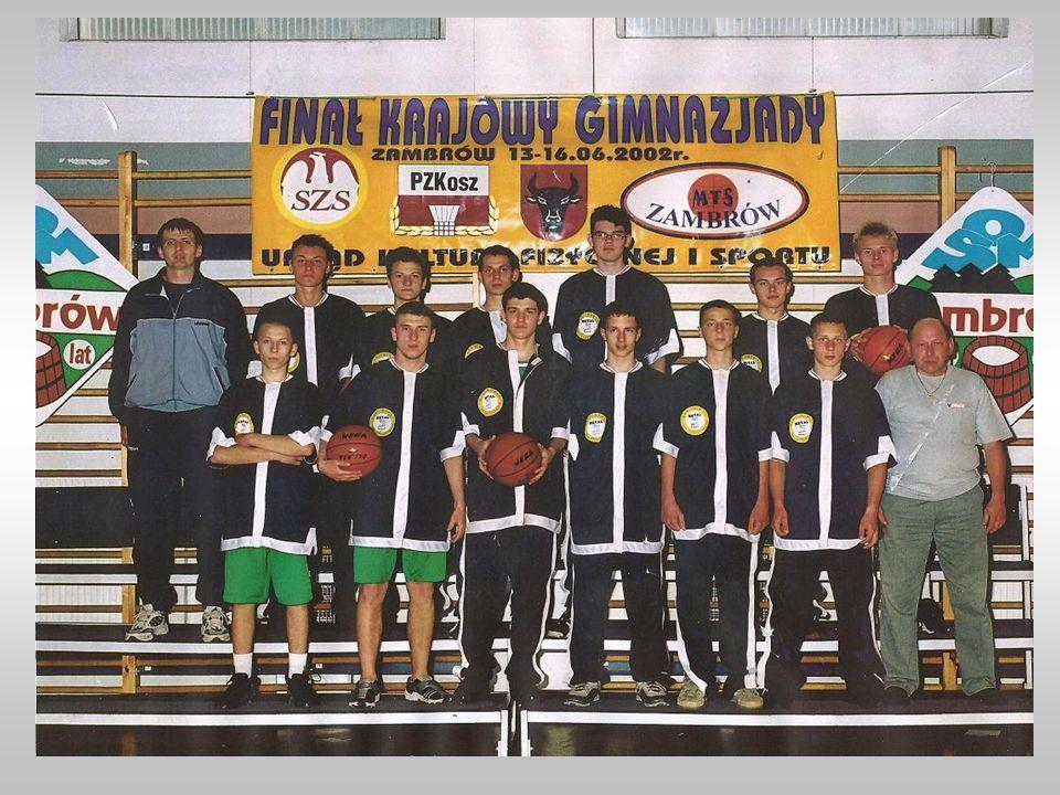 Skład drużyny: Grzegorz Dawid, Maciej Grygorcewicz, Wojciech Gniadzik, Przemysław Olszewski, Krzysztof Pielech, Łukasz Miszczyszyn, Piotr Sadowski, Ma