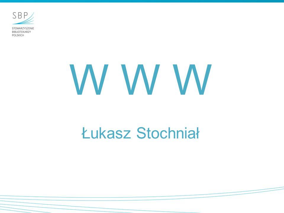 World Wide Web, w skrócie Web lub częściej WWW - hipertekstowy, multimedialny, internetowy system informacyjny oparty na publicznie dostępnych, otwartych standardach IETF i W3C.