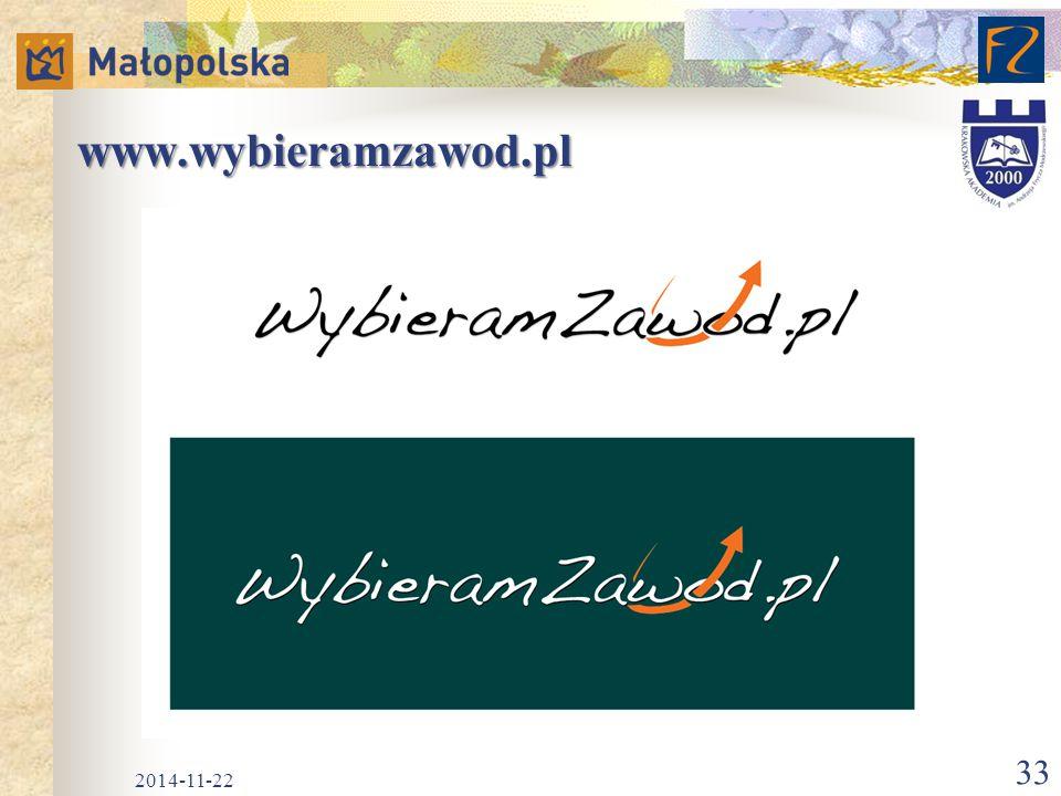 www.wybieramzawod.pl 2014-11-22 33