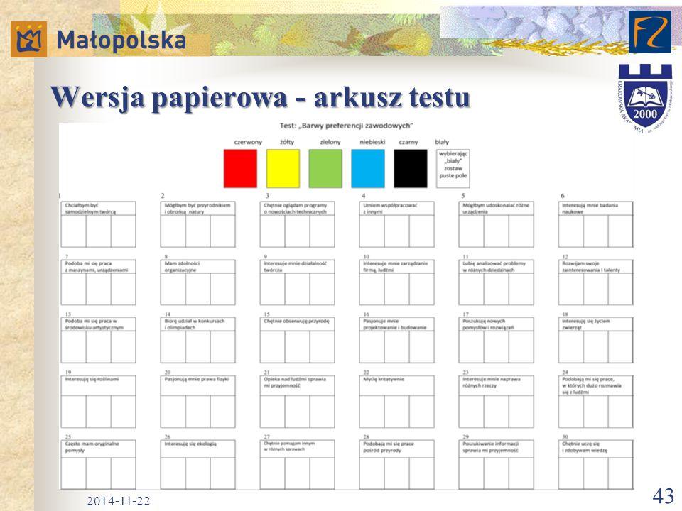 Wersja papierowa - arkusz testu 2014-11-22 43