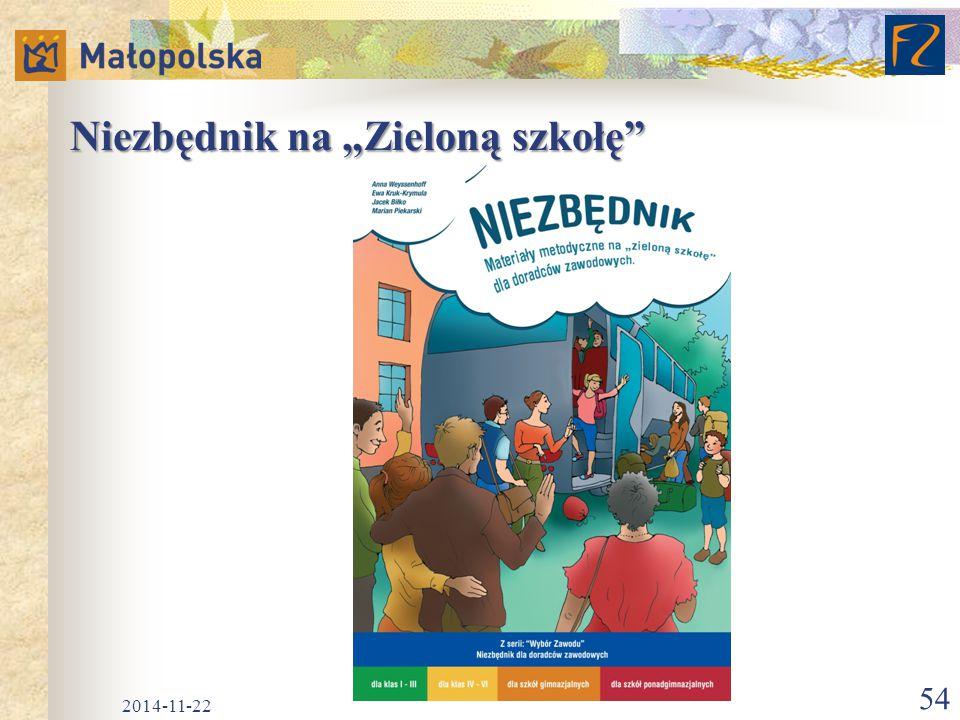 """Niezbędnik na """"Zieloną szkołę"""" 2014-11-22 54"""