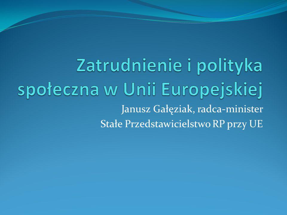 Janusz Gałęziak, radca-minister Stałe Przedstawicielstwo RP przy UE