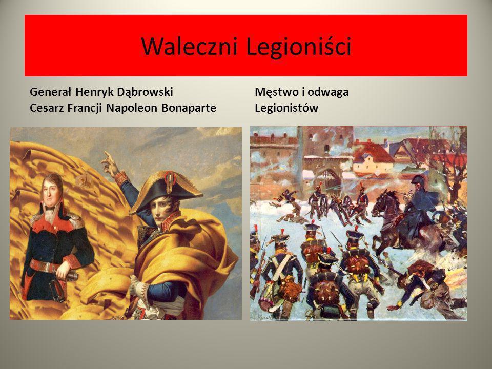 Nadzieja Polaków na odzyskanie niepodległości Napoleon BonaparteCesarz Francuzów