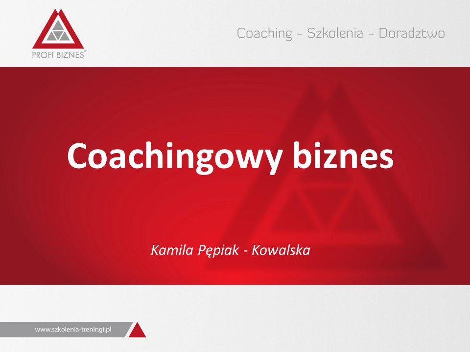 Coachingowy biznes Kamila Pępiak - Kowalska