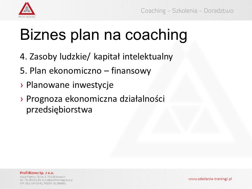 www.szkolenia-treningi.pl Profi Biznes Sp.z o.o.