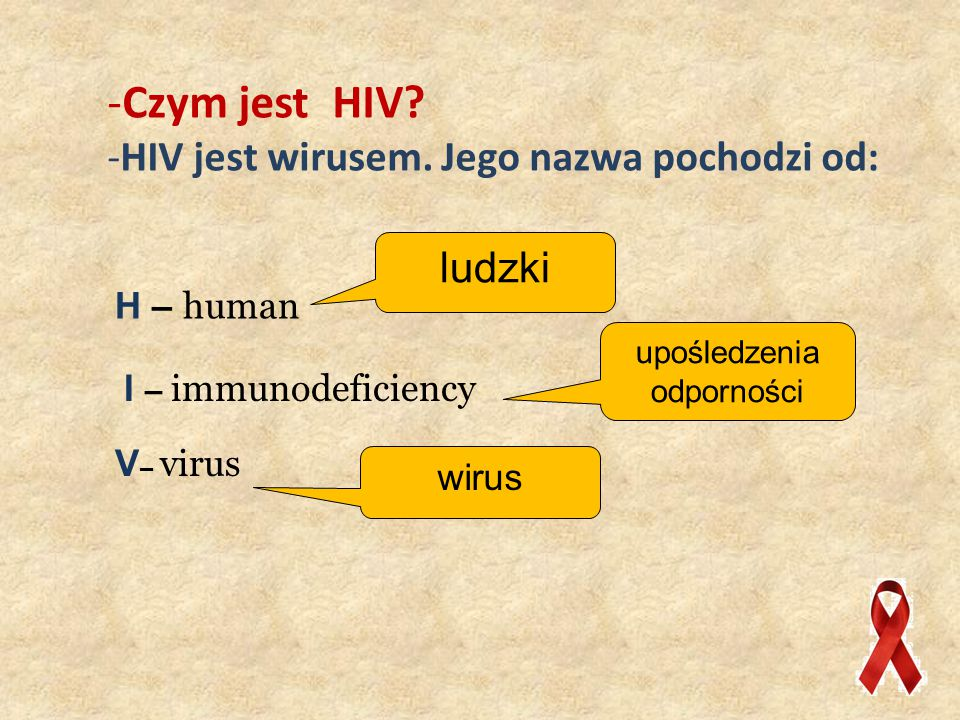 -To czym w takim razie jest AIDS.
