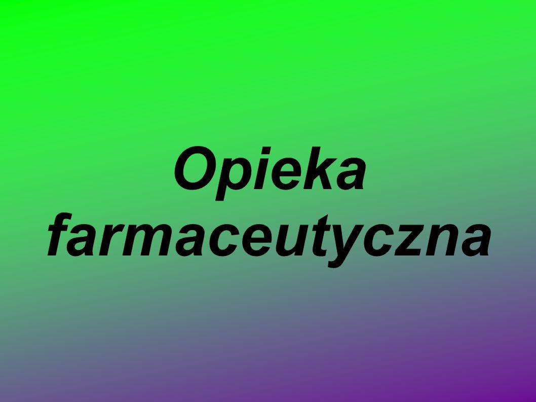 Modele opieki farmaceutycznej Ogólna opieka farmaceutyczna (L.