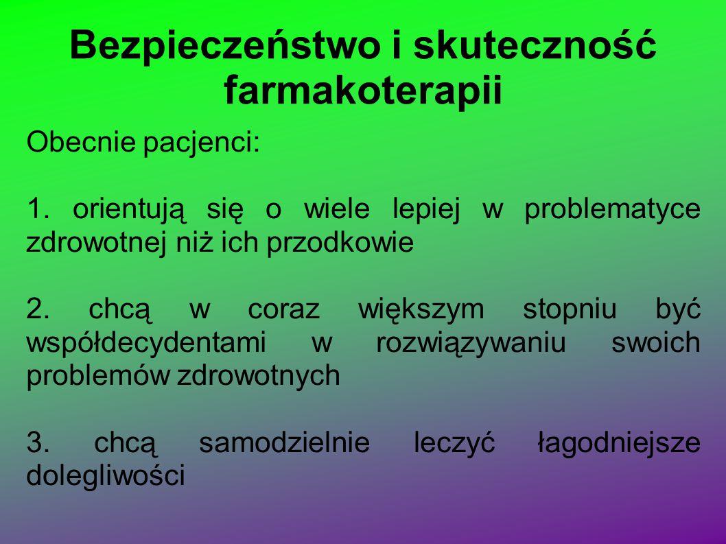 Opieka farmaceutyczna w świetle dokumentów międzynarodowych stowarzyszeń farmaceutycznych i organizacji zdrowia Opieka farmaceutyczna w świetle polskiego prawa 1.