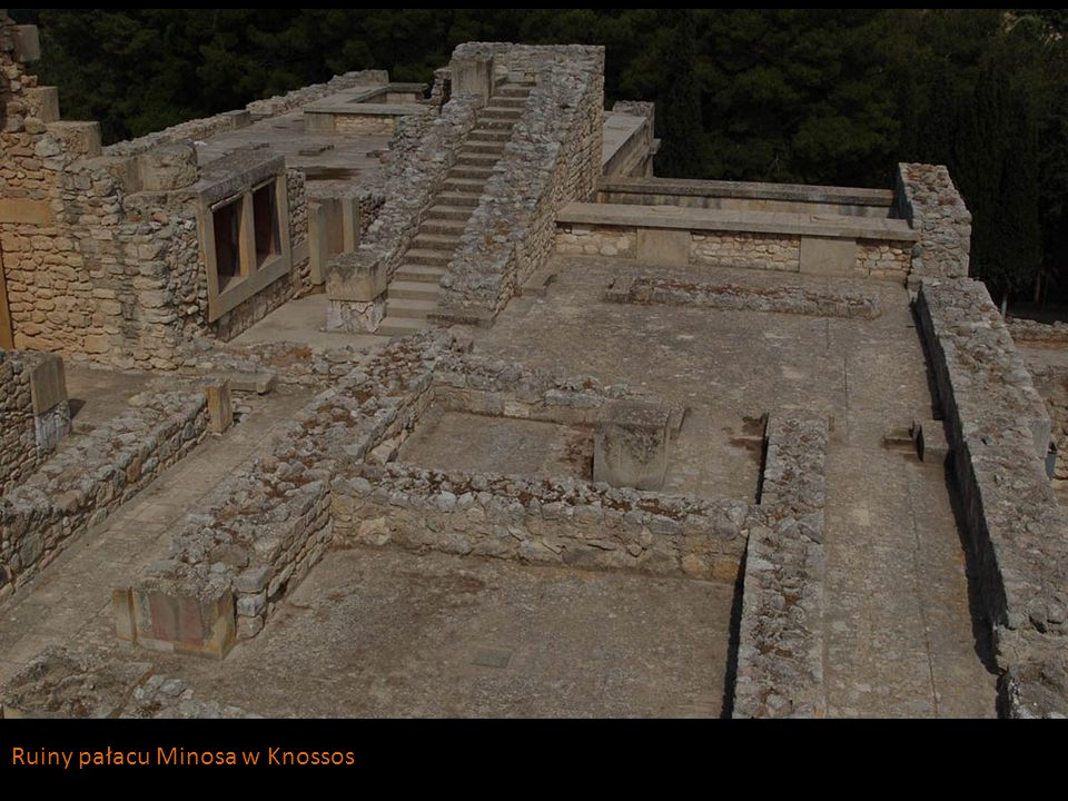 Ruiny pałacu Minosa w Knossos