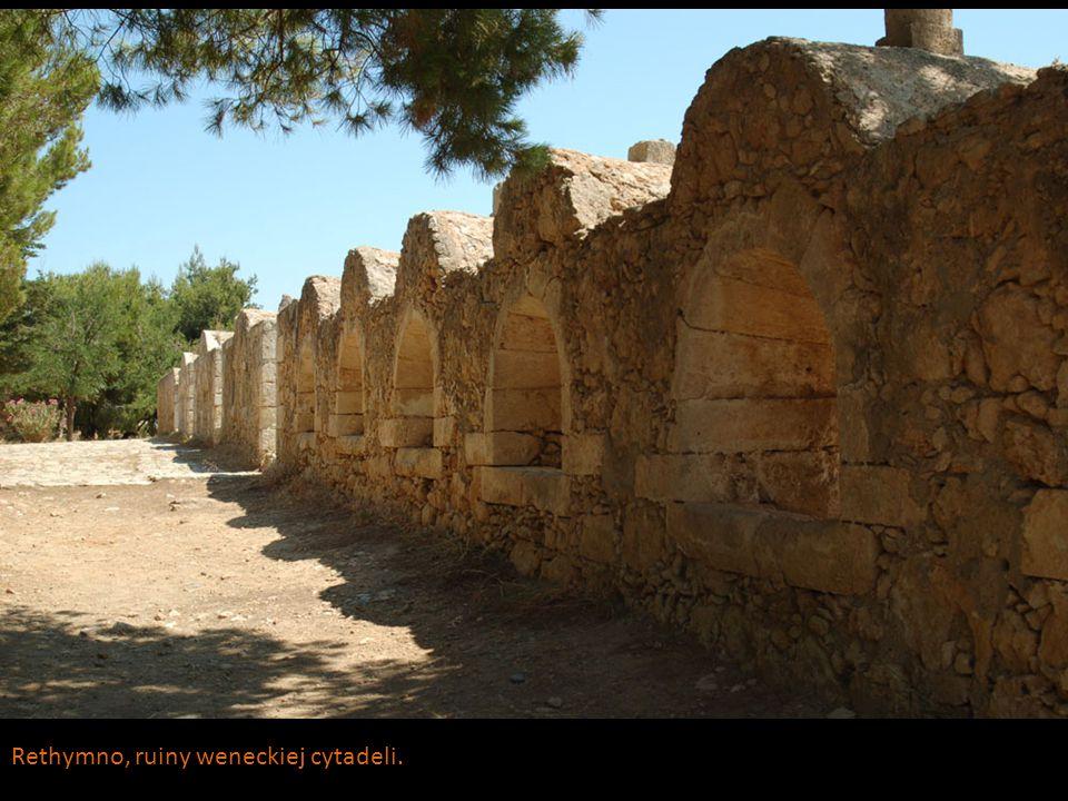 Rethymno, ruiny weneckiej cytadeli.