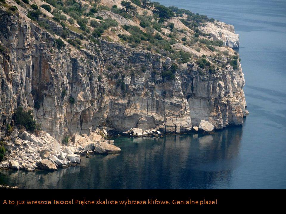 A tu już Kreta. Wyspa skalista inaczej… zdecydowanie inaczej niż Tassos!