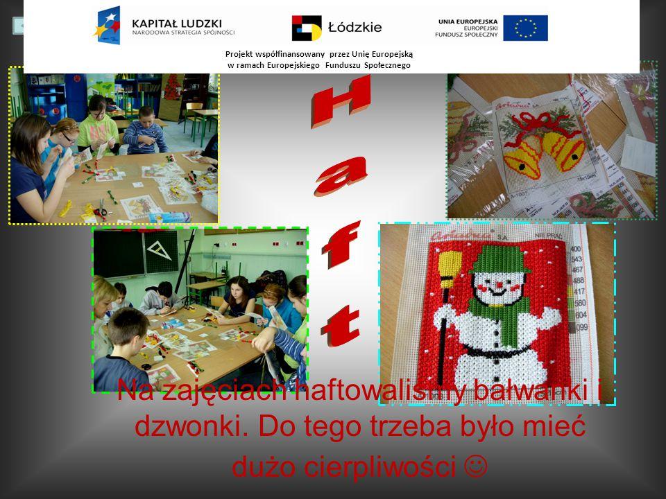 Na zajęciach mogliśmy rozwijać logiczne myślenie grając w rummikub, układając tangramy, czy klocki typu T. Projekt współfinansowany przez Unię Europej