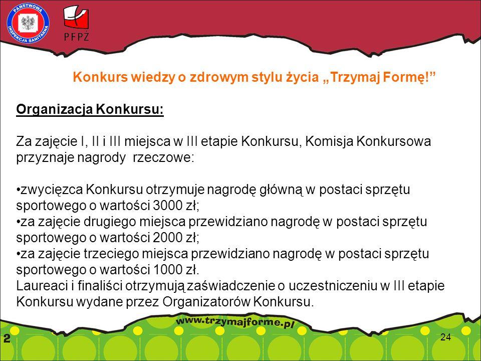 """Konkurs na film promujący Ogólnopolski Program Edukacyjny """"Trzymaj Formę!"""