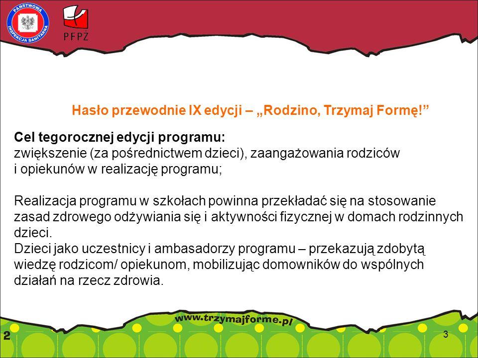 Zmiany w materiałach edukacyjnych do programu