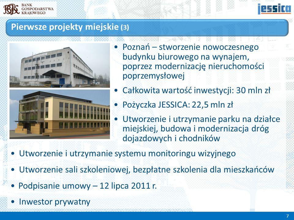Poznań – stworzenie nowoczesnego budynku biurowego na wynajem, poprzez modernizację nieruchomości poprzemysłowej Całkowita wartość inwestycji: 30 mln