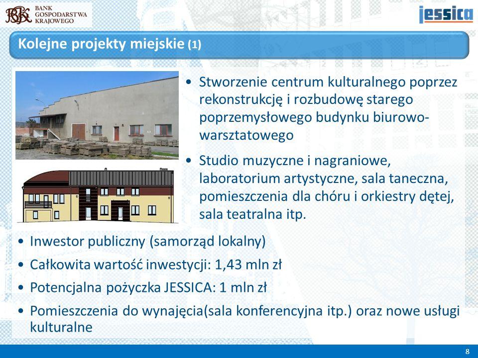 Stworzenie centrum kulturalnego poprzez rekonstrukcję i rozbudowę starego poprzemysłowego budynku biurowo- warsztatowego Studio muzyczne i nagraniowe,