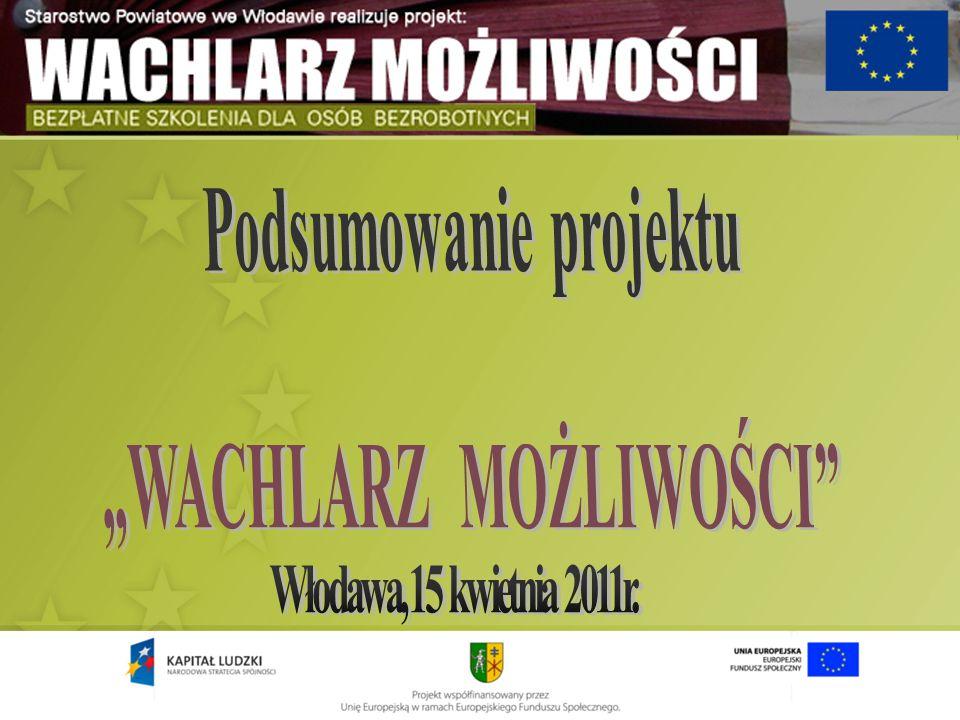 O projekcie Starostwo Powiatowe we Włodawie, w celu podniesienia pozycji zawodowej osób nieaktywnych zawodowo, integracji społeczno-zawodowej oraz zmiany niekorzystnej postawy mentalnej osób pozostających bez zatrudnienia w styczniu 2010 r.