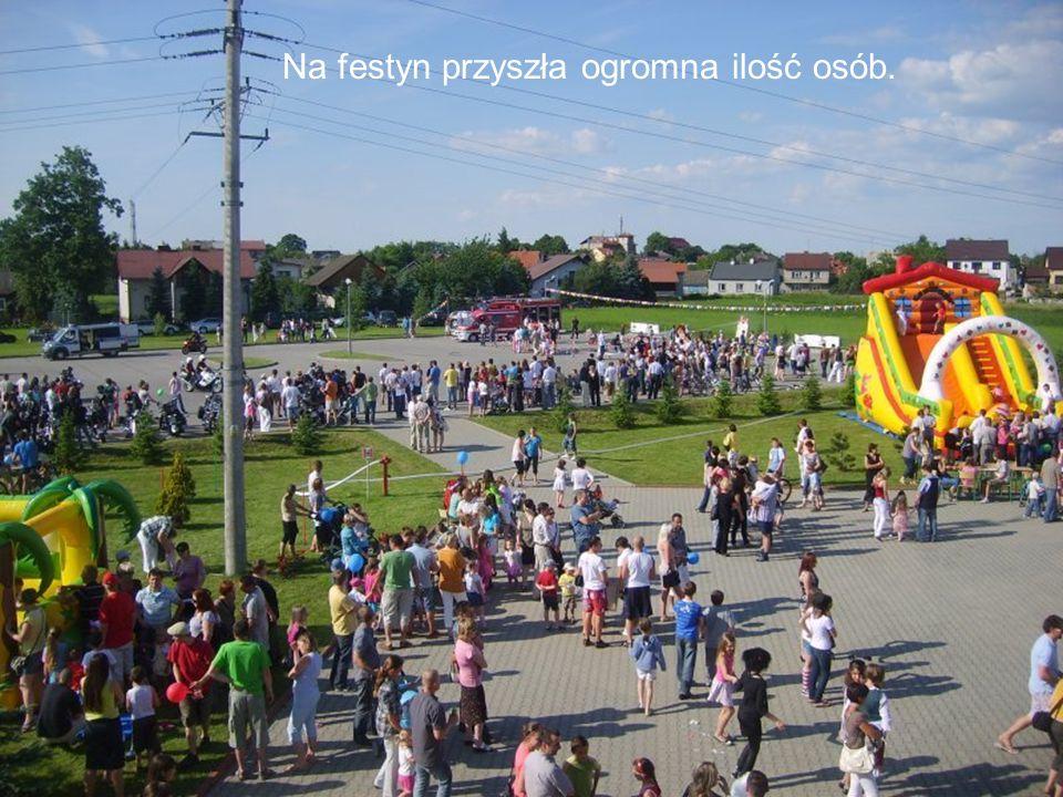 Na festyn przyszła ogromna ilość osób.
