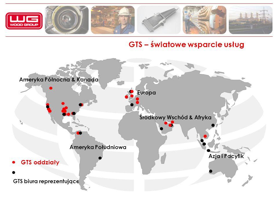 GTS – światowe wsparcie usług GTS oddziały GTS biura reprezentujące Ameryka Północna & Kanada Ameryka Południowa Europa Środkowy Wschód & Afryka Azja i Pacyfik