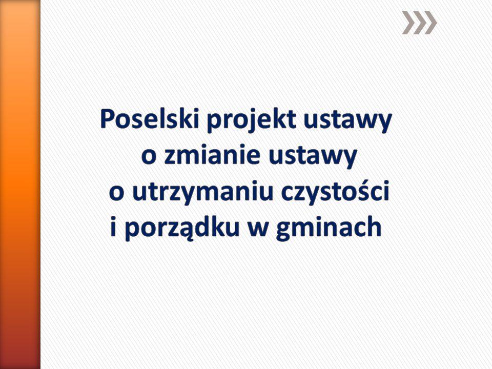 Projekt dotyczy doprecyzowania i wyjaśnienia wątpliwości prawnych przy codziennym stosowaniu ustawy m.in.