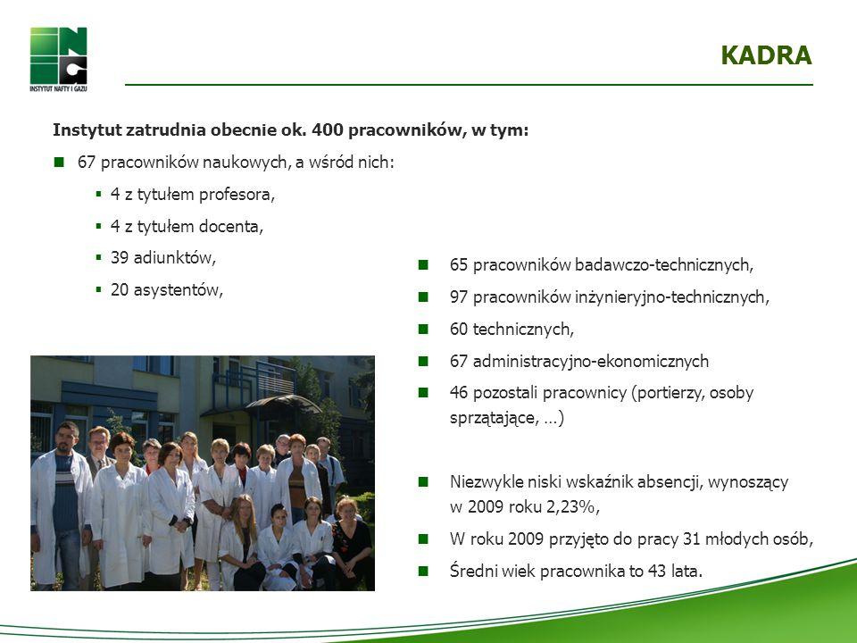WSPÓŁPRACA Z PRZEMYSŁEM prace o dużym ciężarze gatunkowym, dla firm o strategicznym znaczeniu dla polskiej gospodarki oraz o istotnym znaczeniu dla porządku publicznego (m.in.:PGNiG, Operator Gazociągów Przesyłowych GAZ SYSTEM, PKN ORLEN, Grupa Lotos) PRACE FINANSOWANE W 100% PRZEZ PRZEMYSŁ zlecenia małych i średnich przedsiębiorstw, związane z: certyfikacją wyrobów, wprowadzaniem systemów zarządzania jakością, pracami usługowymi (np.