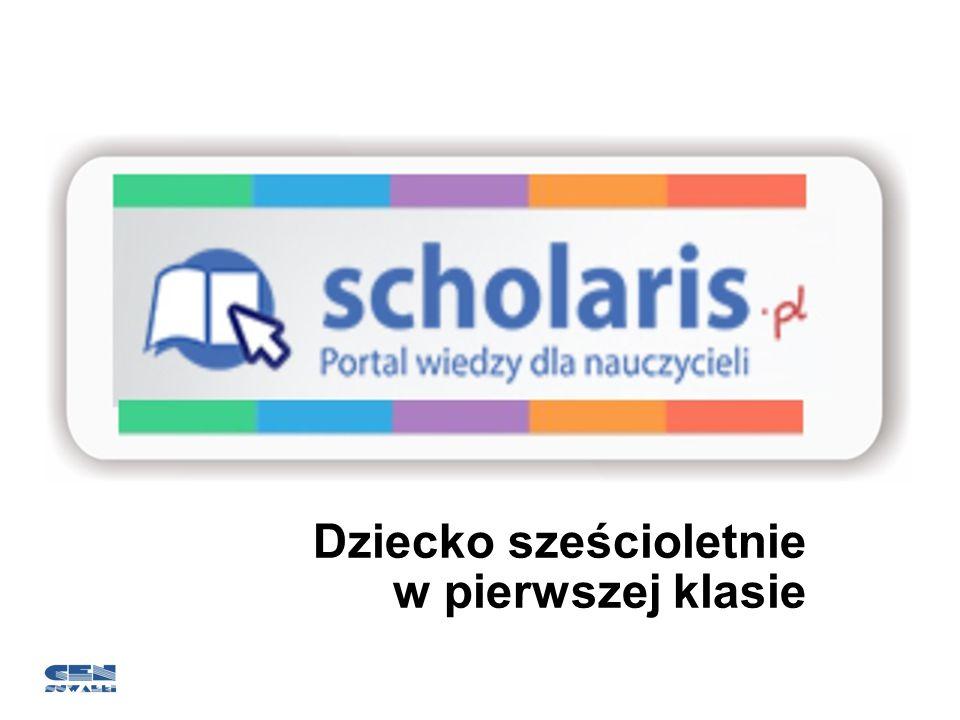 Zasoby portalu Scholaris jako jeden ze sposobów wzbogacenia procesu edukacyjnego Scholaris to portal wiedzy dla nauczycieli.