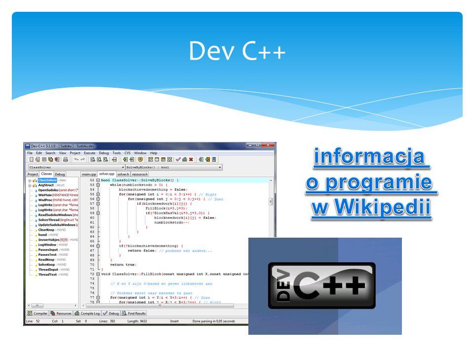 Dev C++