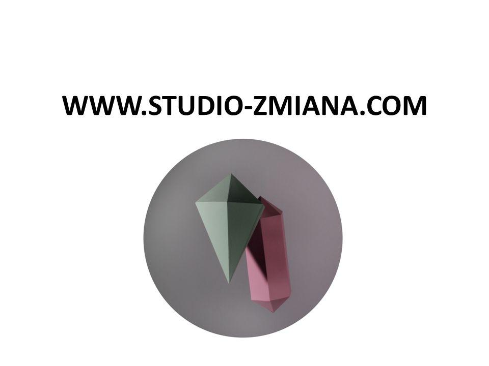 www.studio-zmiana.com ola@studio-zmiana.com