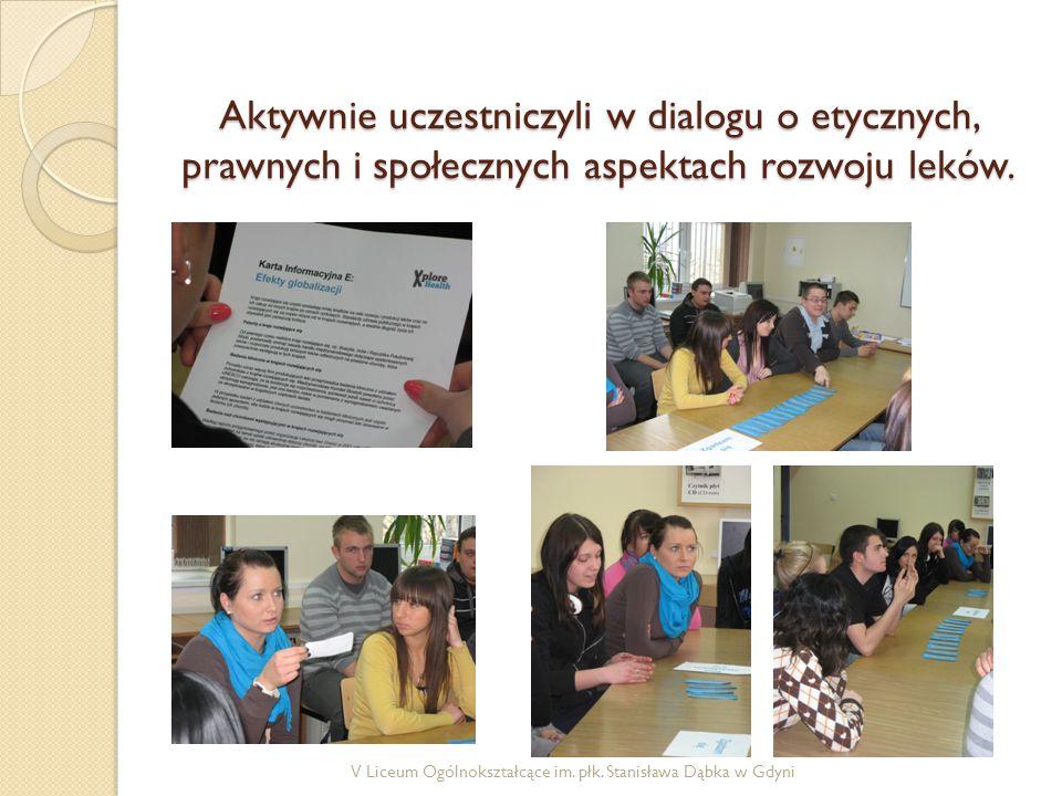 Aktywnie uczestniczyli w dialogu o etycznych, prawnych i społecznych aspektach rozwoju leków.