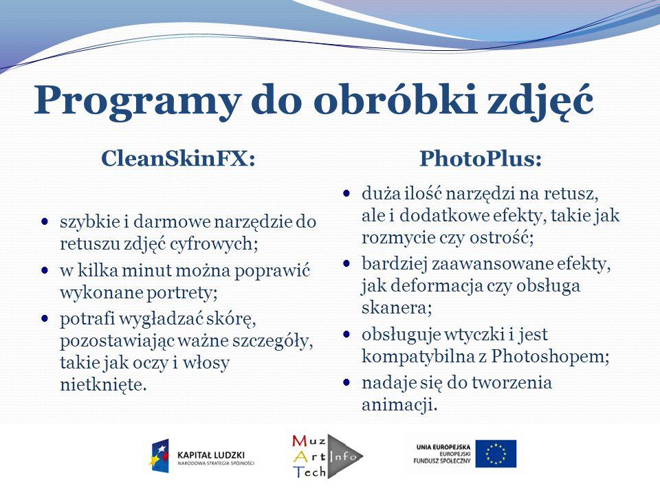 Programy do obróbki zdjęć CleanSkinFX: PhotoPlus: szybkie i darmowe narzędzie do retuszu zdjęć cyfrowych; w kilka minut można poprawić wykonane portre