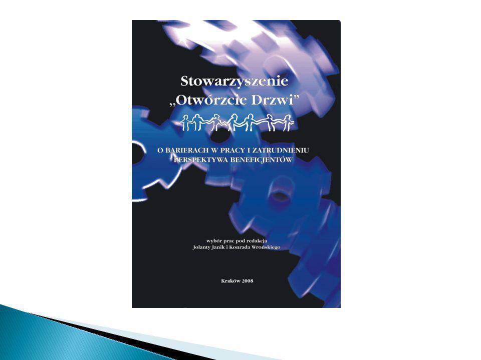 """ Czasopismo """"Dla nas  Udział członków Stowarzyszenia w 10 reportażach ułożonych w cykl pod wspólnym tytułem """"Schizofrenia – Otwórzmy Drzwi ."""