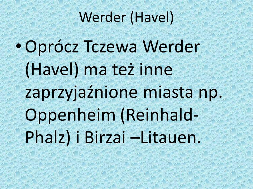 Godło Werderu. Werder Havel jest wyspą.