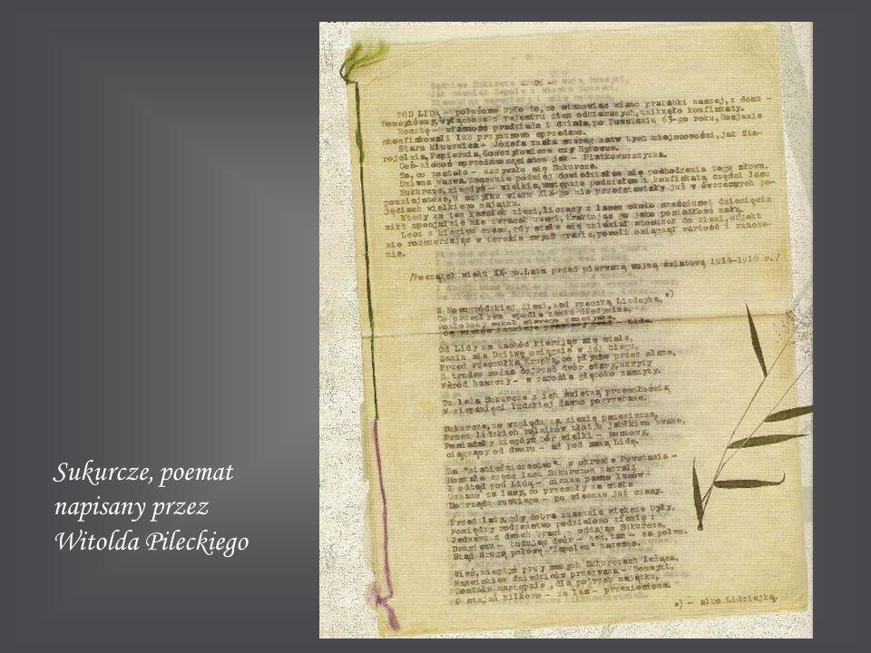 Sukurcze, poemat napisany przez Witolda Pileckiego