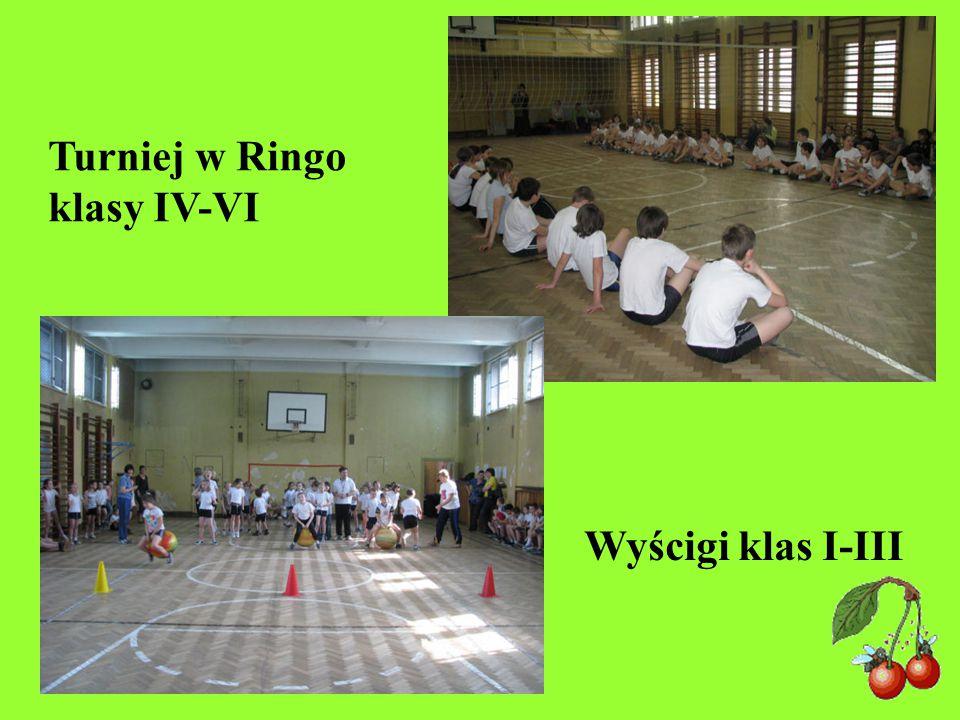 Turniej w Ringo klasy IV-VI Wyścigi klas I-III