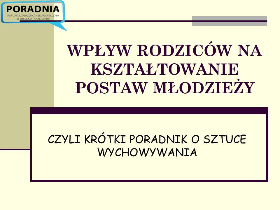 Zainteresowanych zapraszamy na stronę internetową Poradni Psychologiczno- Pedagogicznej w Bielsku Podlaskim www.ppp-bielsk.pl Jeśli masz problem, szukasz porady dotyczącej Twojego dziecka- odwiedź nas lub skontaktuj telefonicznie: ul.