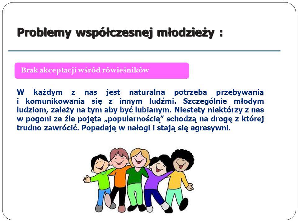 Problemy współczesnej młodzieży : Presja otoczenia Już jako dzieci zaczynamy żyć pod presją otoczenia.