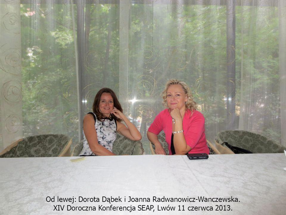 Od lewej: Dorota Dąbek i Joanna Radwanowicz-Wanczewska.