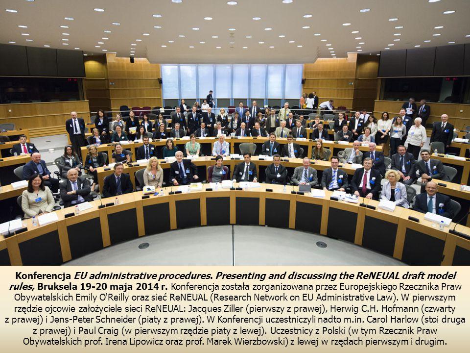 Konferencja EU administrative procedures.