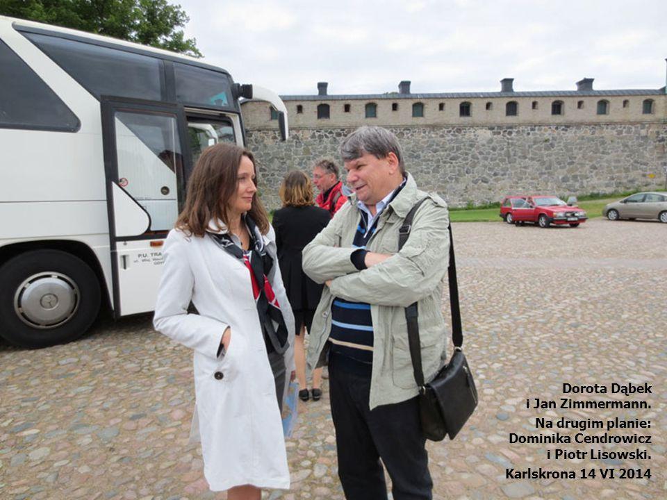 Dorota Dąbek i Jan Zimmermann.Na drugim planie: Dominika Cendrowicz i Piotr Lisowski.